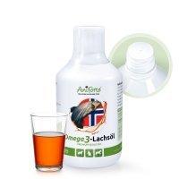 Nahrungsergänzung AniForte Omega 3-Lachsöl