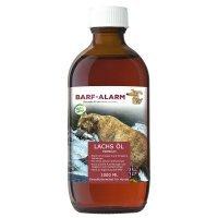 Nahrungsergänzung BARF-Alarm Premium Lachsöl für Hunde mit Omega 3 und Omega 6 Fettsäuren
