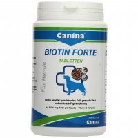 Nahrungsergänzung Canina Biotin Forte Tabletten