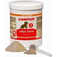 Nahrungsergänzung CANIPUR relax forte