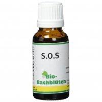 Nahrungsergänzung cdVet Bio-Bachblüten S.O.S
