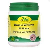 Nahrungsergänzung cdVet Wurm-o-Vet forte Hund