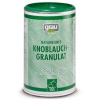 Nahrungsergänzung Grau Knoblauch-Granulat