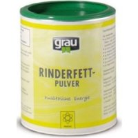 Nahrungsergänzung Grau Rinderfettpulver