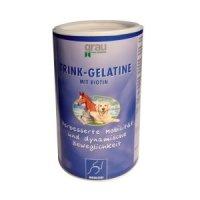 Nahrungsergänzung Grau Trink-Gelatine mit Biotin