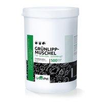 Nahrungsergänzung GreenPet Grünlippmuschel Pulver