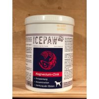 Nahrungsergänzung ICEPAW Magnesium + Zink