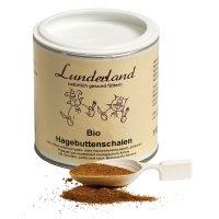 Nahrungsergänzung Lunderland Bio-Hagebuttenschalen