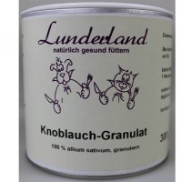 Nahrungsergänzung Lunderland Bio Knoblauch-Granulat