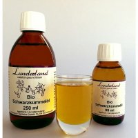 Nahrungsergänzung Lunderland Bio-Schwarzkümmelöl