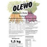 Zusatzfutter Olewo Karotten-Rote-Beete Pellets