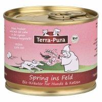 Nahrungsergänzung Terra-Pura Bio Kräutermischung Spring ins Feld