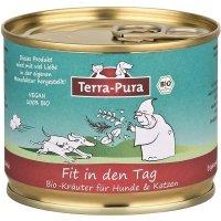 Nahrungsergänzung Terra-Pura Fit in den Tag 100% Bio