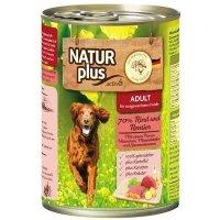 Nassfutter Activa NATUR plus ADULT 70 % Rind und Rentier