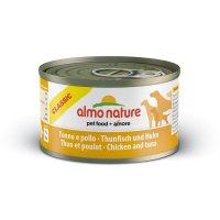 Nassfutter Almo Nature Classic Adult Thunfisch und Huhn