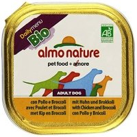 Nassfutter Almo Nature Daily Menu Bio Pate Huhn mit Brocolli