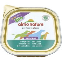 Nassfutter Almo Nature Daily Menu Bio Pate Lamm