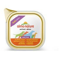 Nassfutter Almo Nature Daily Menu Kalb und Karotten