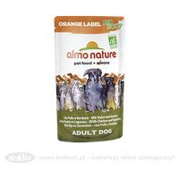 Nassfutter Almo Nature Orange Label BIO Soup Huhn mit Gemüse