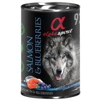 Nassfutter alpha spirit Salmon & Blueberries