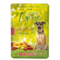 Nassfutter alsa natural Love Ente & Hirse mit Reis und Ananas
