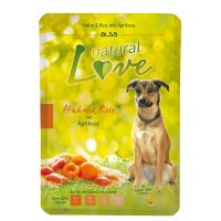 Nassfutter alsa natural Love Huhn & Reis mit Aprikose