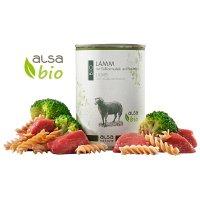 Nassfutter alsa nature BIO Lamm mit Vollkornnudel und Brokkoli