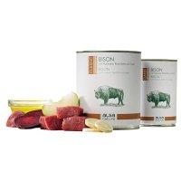 Nassfutter alsa nature Bison mit Pastinake, Rote Bete & Apfel