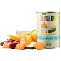 Nassfutter alsa nature Junior Huhn & Lachs mit Kartoffel, Kürbis & Zucchini