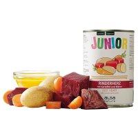 Nassfutter alsa nature Junior Rinderherz mit Kartoffel & Möhre