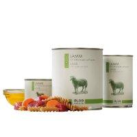 Nassfutter alsa nature Classic Lamm mit Vollkornnudel und Karotte