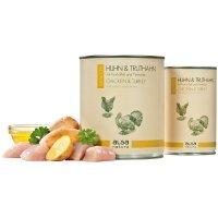 Nassfutter alsa nature Senior Huhn & Truthahn mit Kartoffel und Petersilie