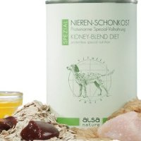 Nassfutter alsa nature SPEZIAL Nieren-Schonkost