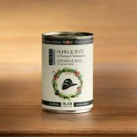 Nassfutter alsa nature Weihnachts-Edition Huhn & Ente mit Pastinake & Fenchelgemüse