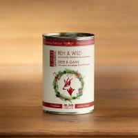Nassfutter alsa nature Weihnachts-Edition Reh & Wild mit Kartoffel, Rotkohl & Sanddornbeeren