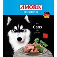 Nassfutter Amora Fleisch pur mit Gans
