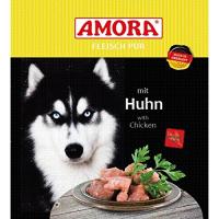 Nassfutter Amora Fleisch pur mit Huhn
