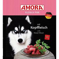 Nassfutter Amora Fleisch Pur mit Kopffleisch