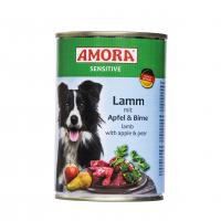Nassfutter Amora Sensitive Lamm mit Apfel & Birne