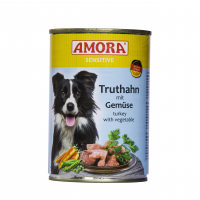 Nassfutter Amora Sensitive Truthahn mit Gemüse