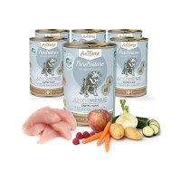 Nassfutter AniForte PureNature Junior zartes Huhn an feinen Möhrchen