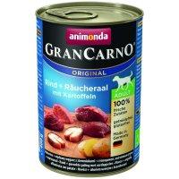 Nassfutter animonda GranCarno Adult mit Räucheraal + Kartoffeln