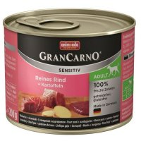 Nassfutter animonda GranCarno Adult Sensitive mit Rind + Kartoffeln