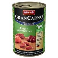 Nassfutter animonda GranCarno Original Adult Rind & Entenherzen