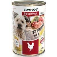 Nassfutter BEWI DOG Fleischkost reich an Huhn