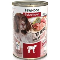 Nassfutter BEWI DOG Fleischkost reich an Kalb