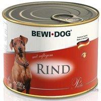 Nassfutter BEWI DOG Pâté mit saftigem Rind