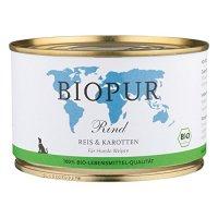 Nassfutter BIOPUR Welpen Rind, Reis, Karotten