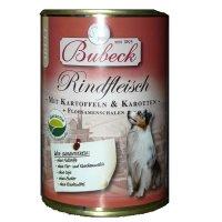 Nassfutter Bubeck Rindfleisch