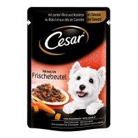 Nassfutter Cesar Feines mit Rind & Karotten in Sauce